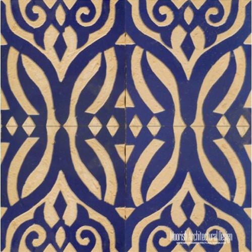Rustic Moorish Tile 03