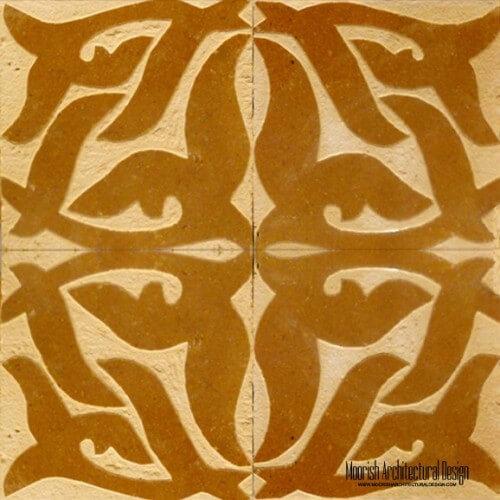 Rustic Moorish Tile 05