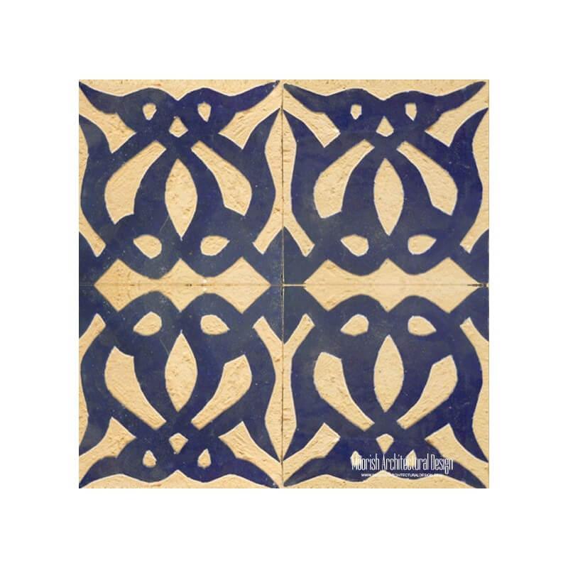 Rustic Moroccan bathroom Tile
