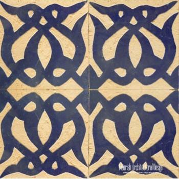 Rustic Moorish Tile 06