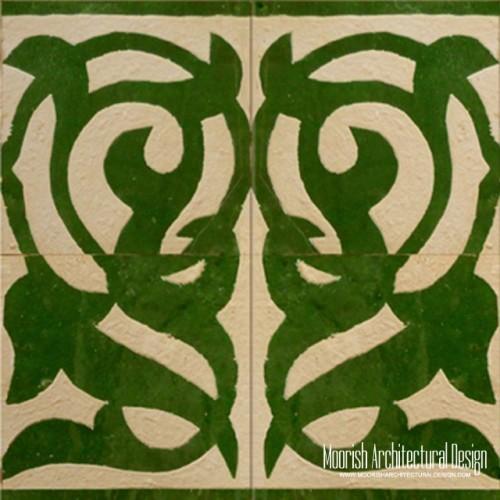 Rustic Moorish Tile 09