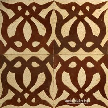 Rustic Moorish Tile 10