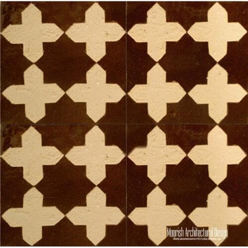 Rustic Moorish fountain Tile