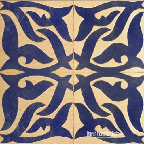 Rustic Moorish Tile 12