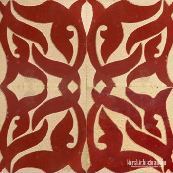 Rustic Moorish Tile 14