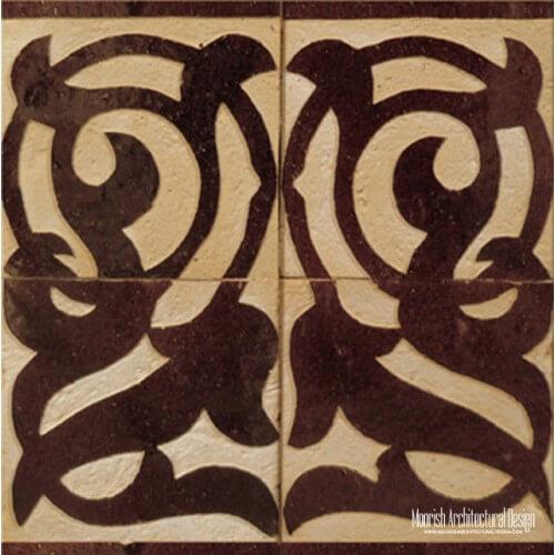 Rustic Moorish Tile 15