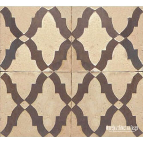 Rustic Moorish Tile 17