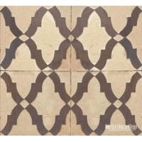 Rustic Moorish wall tile