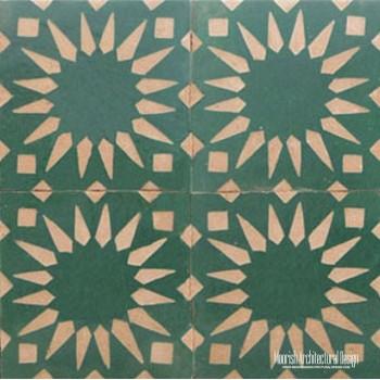 Rustic Moorish Tile 19
