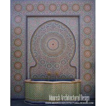 Moroccan Fountain 02