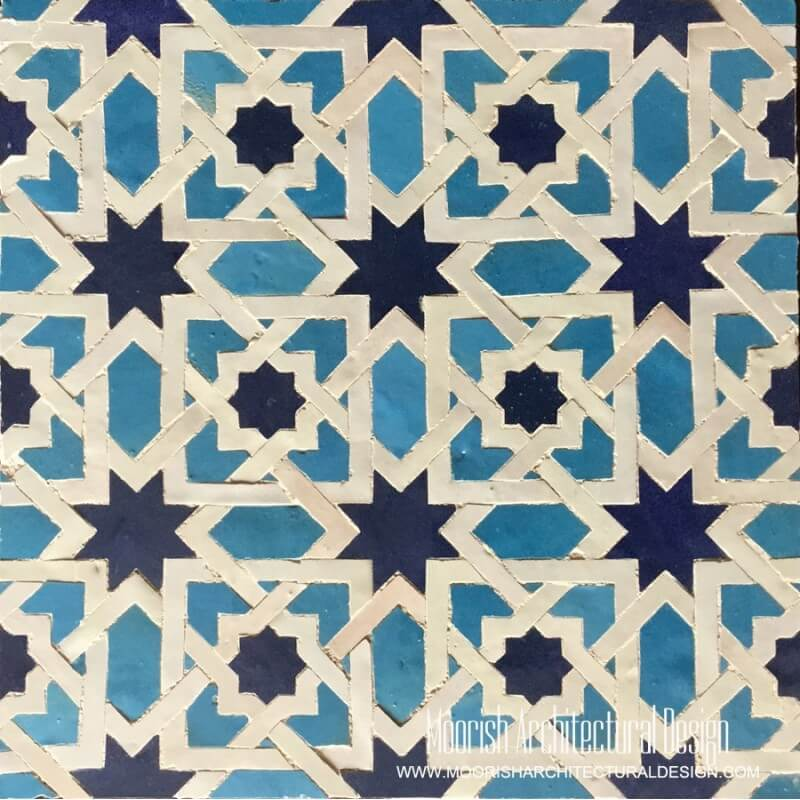 Turquoise Moorish Tile