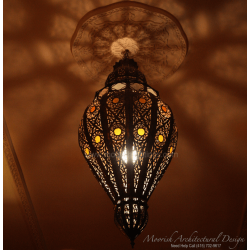 Traditional Moroccan Pendant 08