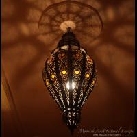 Moroccan filigree pendant