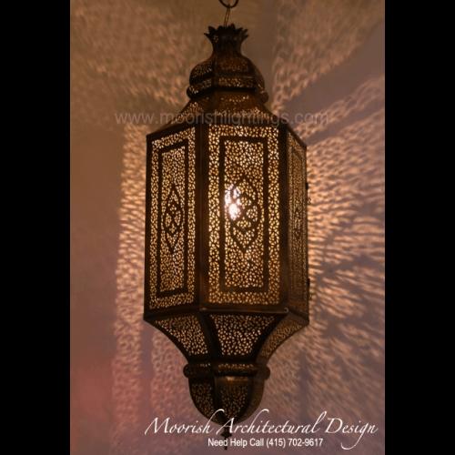Traditional Moroccan Pendant 10