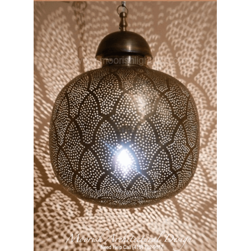 Traditional Moroccan Pendant 12