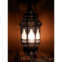 Moroccan patio pendant light
