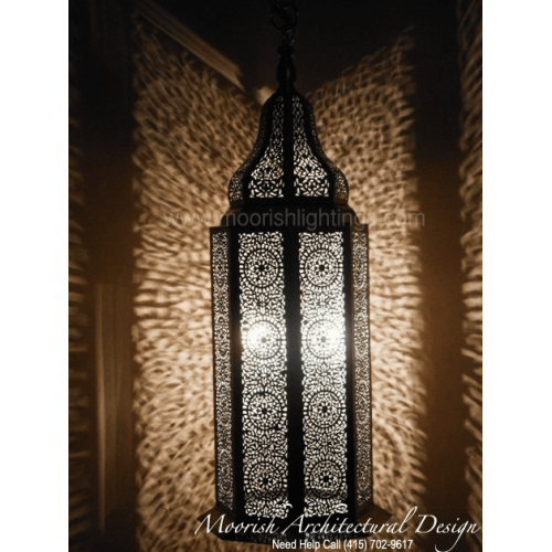 Traditional Moroccan Pendant 18