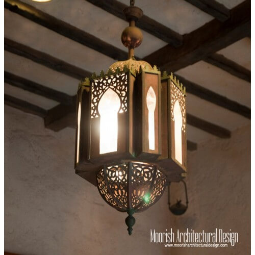 Traditional Moroccan Pendant 22