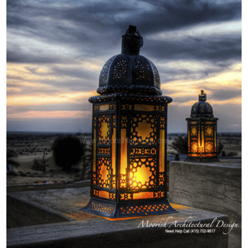 Moroccan Outdoor Light 01