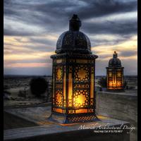 Moroccan Garden Lamp