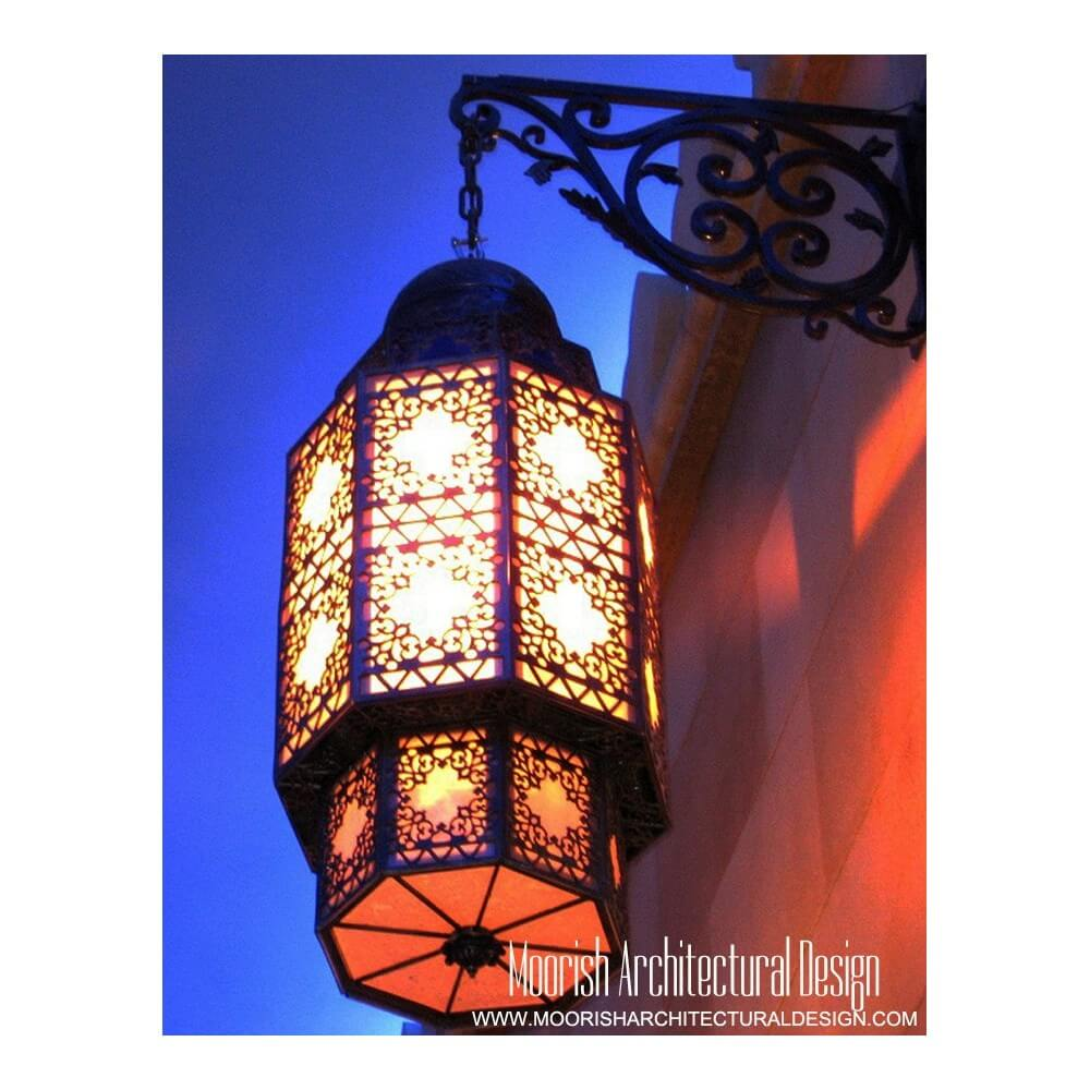 Moroccan Glass Wall Lights : Moroccan Royal Room Wall Sconce Morocco - Wall lights, LED bathroom & bedroom lighting at ...