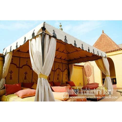 Arabian beach tent