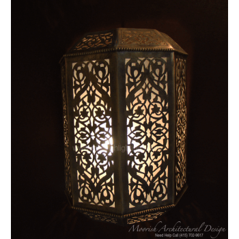 Traditional Moroccan Sconce 06