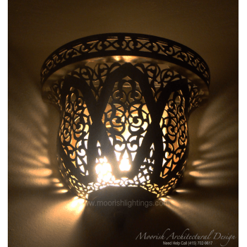 Traditional Moroccan Sconce 09