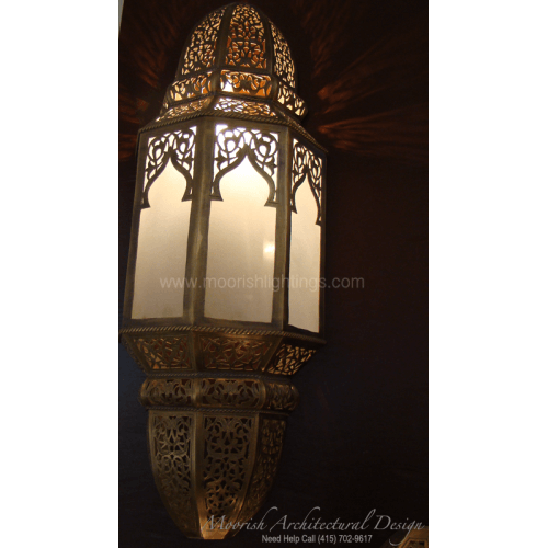 Traditional Moroccan Sconce 11