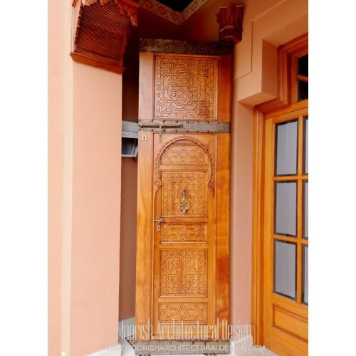 Custom Moroccan Door