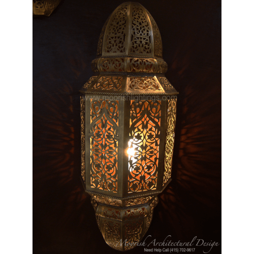 Traditional Moroccan Sconce 12