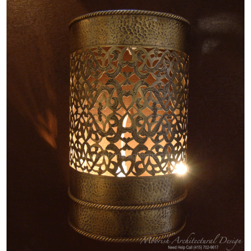 Traditional Moroccan Wall Sconce 15