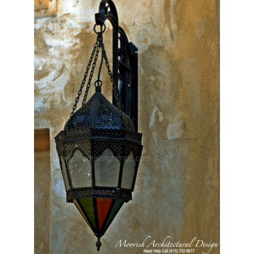 Traditional Moroccan Sconce 20