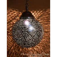 Sphere Bathroom Pendant Light