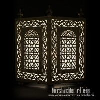 Moorish Outdoor Floor Lamps