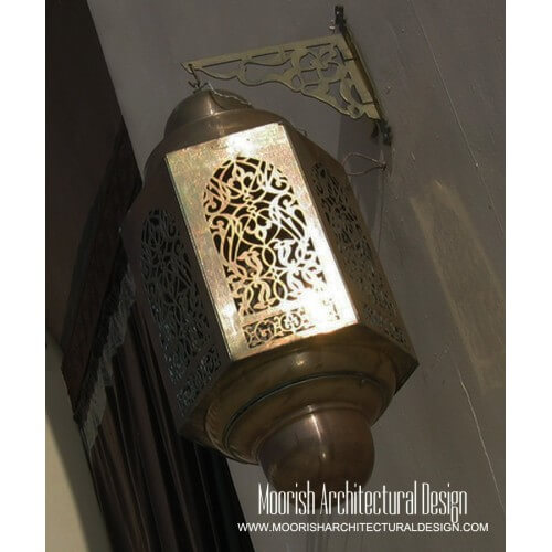 Morocan Outdoor Wall Light 03