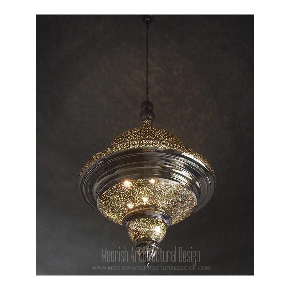 Commercial restaurant lighting - Moroccan pendant lights
