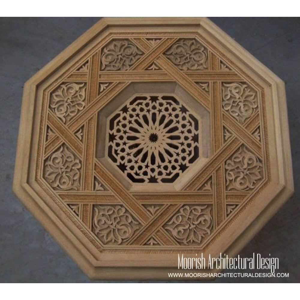 Moorish Carved Wood Panels Islamic Wood Art Moorish