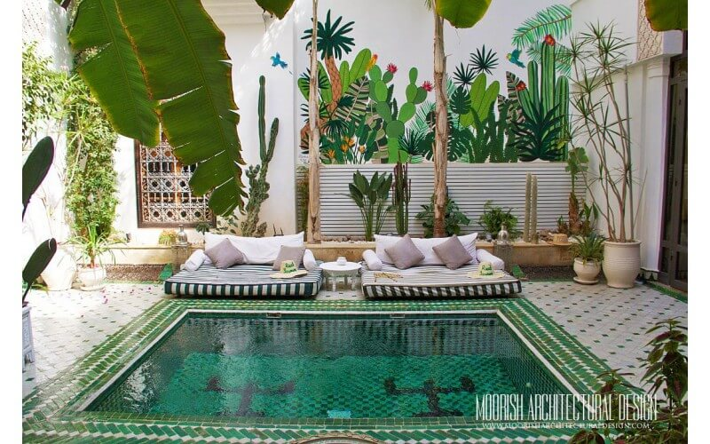 Moroccan Pool Tile Ideas