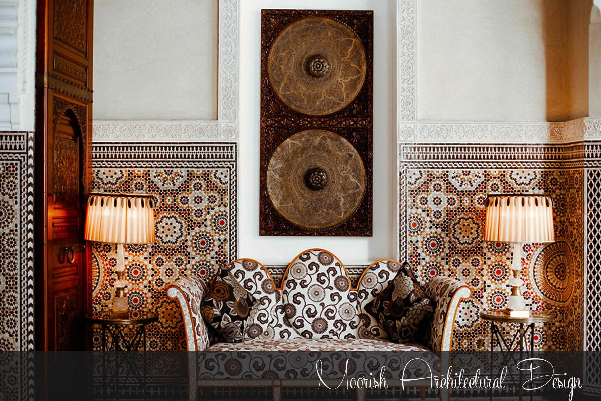 Moorish Architectural Design from Alhambra Spain