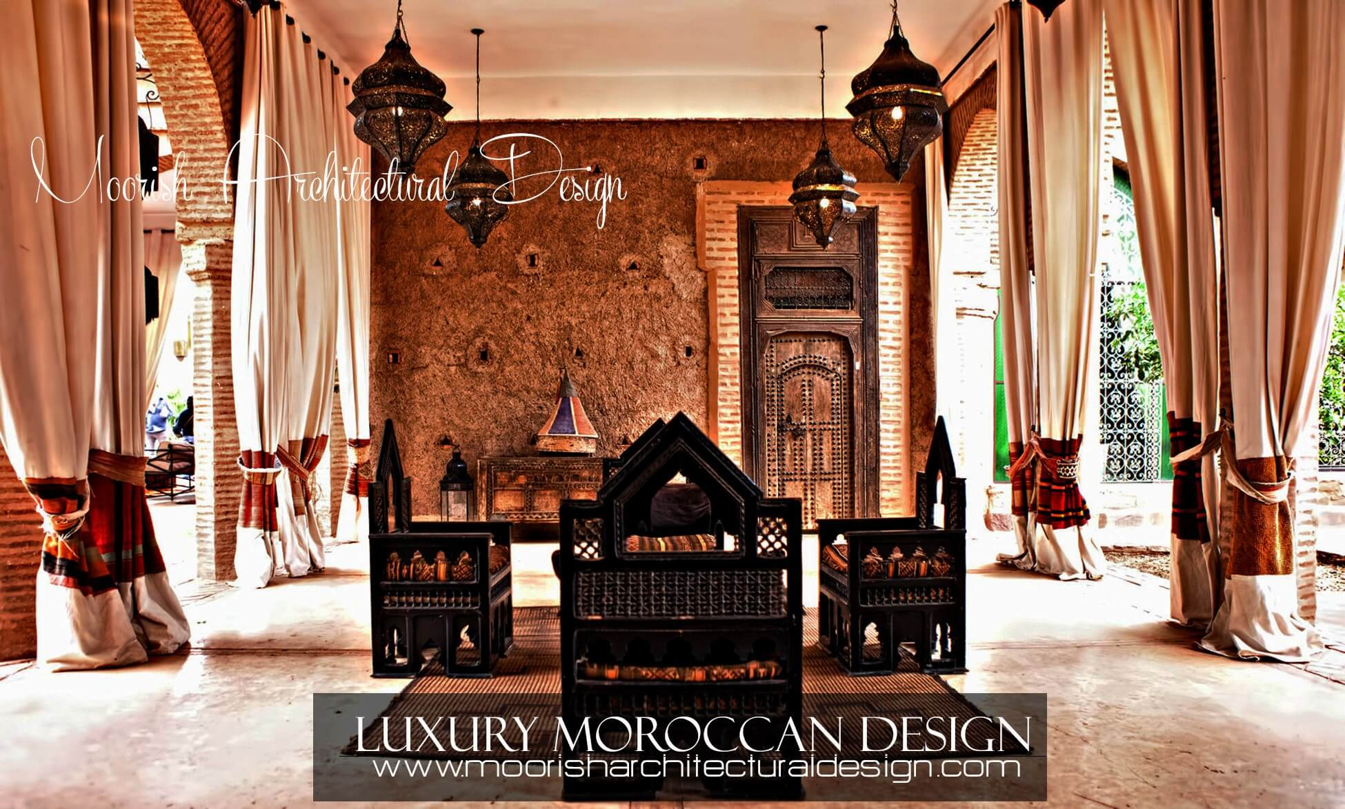 Luxury Moroccan Interior Design