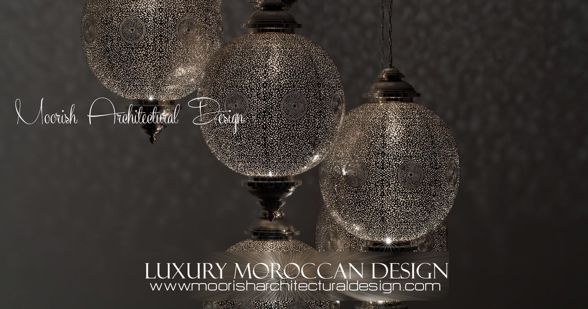 Custom Moroccan ceiling light